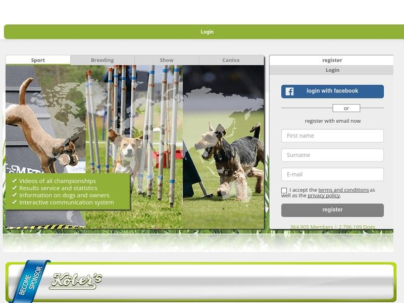 Screenshot von http://www.working-dog.eu/